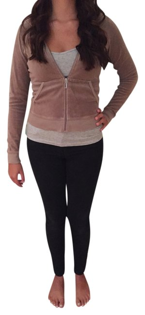 Preload https://item4.tradesy.com/images/juicy-couture-tan-velour-tracksuits-sweatshirthoodie-size-4-s-2961853-0-0.jpg?width=400&height=650