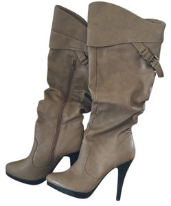 Cathy Jean Camel Boots