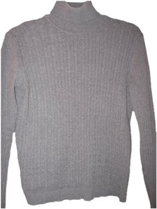 Evan Picone Turtleneck Cableknit Sweater