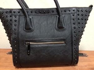 ALDO Faux Leather Studded Tote in Black