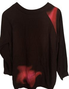 Cynthia Rowley Highlow Oversized Crewneck Sweater