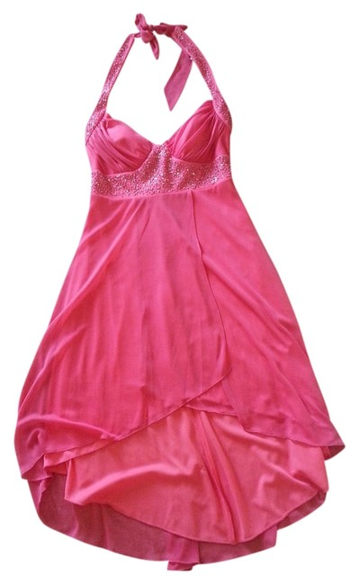 Preload https://item5.tradesy.com/images/rampage-coral-pink-mid-length-formal-dress-size-4-s-2962399-0-0.jpg?width=400&height=650