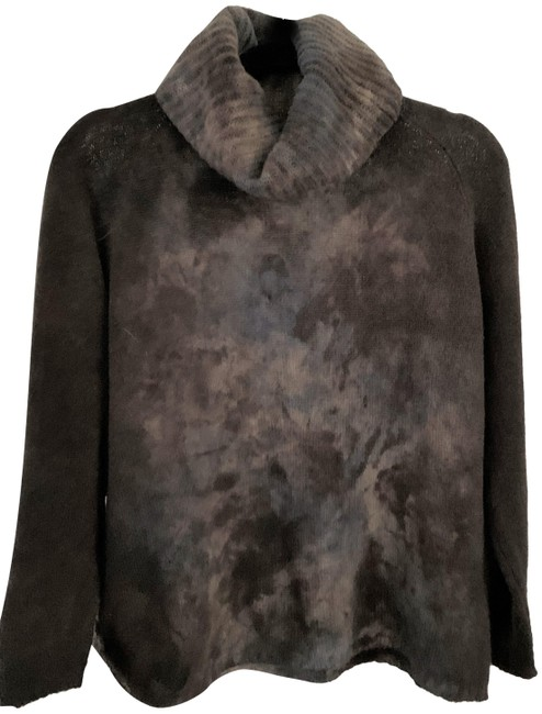 Item - Liapull Dye Cashmere Turtleneck Size Brown Sweater