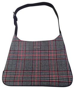 Preston & York Tweed Tartan Plaid Shoulder Bag