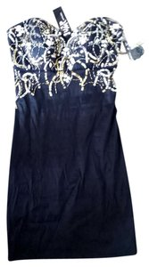 Jump Apparel Rhinestones Beaded Dress