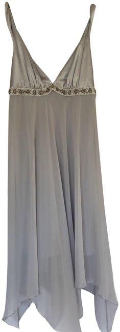 Item - Silver Gray Collection Mid-length Cocktail Dress Size 6 (S)