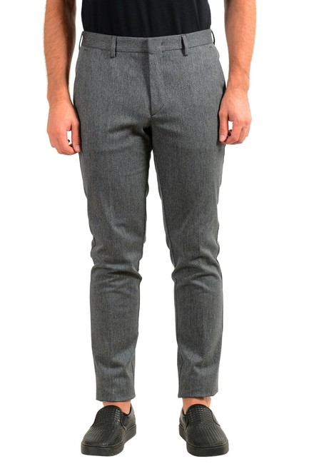 """Item - Gray Men's """"Kaito1"""" Flat Front Casual Us 32r It 48 Pants Size OS (one size)"""