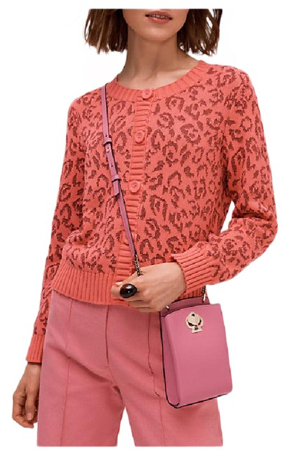 Item - Romy North South Blustery Pink Pebbled Leather Cross Body Bag