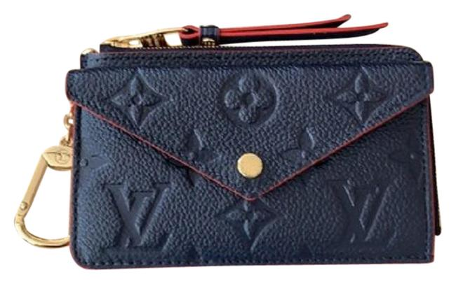 Item - Navy Blue Red Wow 2021 New Sold Out Rare Card Holder Recto Verso Empreinte France Wallet