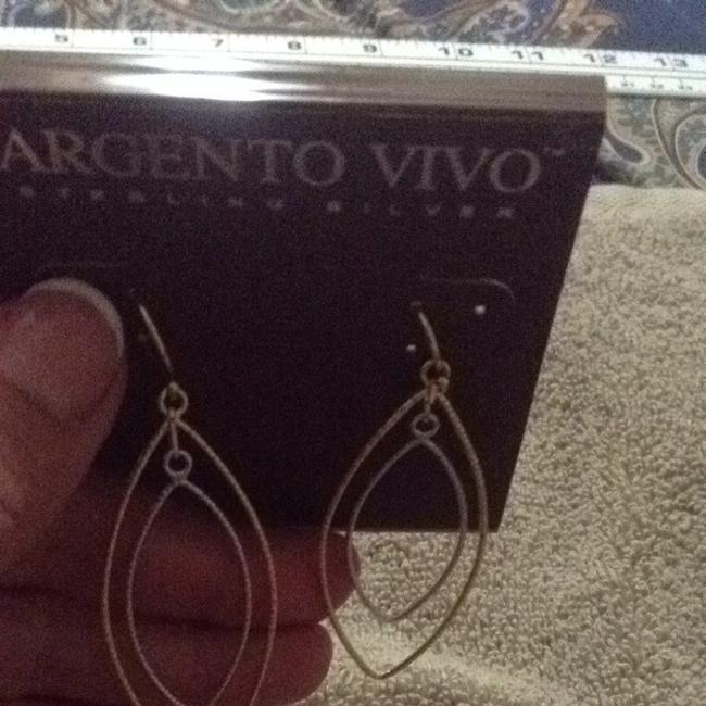 Argento Vivo Gold and Silver Earrings Argento Vivo Gold and Silver Earrings Image 4