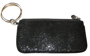 New York & Company Sparkly Clutch Wristlet in Black