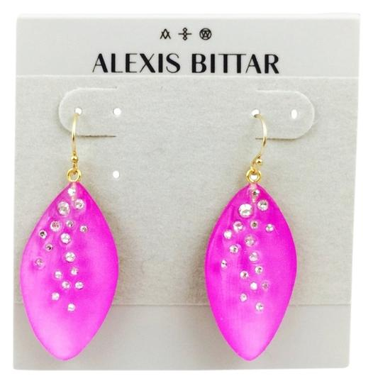 Alexis Bittar Alexis Bittar'Lucite(R) - Dust' Long Leaf Statement Earrings