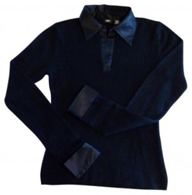 Preload https://item2.tradesy.com/images/mossimo-supply-co-trimmed-collar-and-cuff-black-sweater-29636-0-0.jpg?width=400&height=650