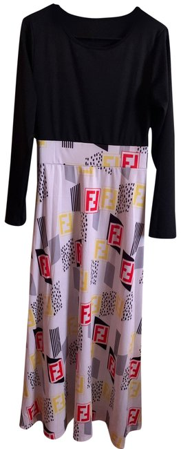 Item - Black and White Certified Sheyy Long Casual Maxi Dress Size 8 (M)