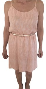 Alice + Olivia short dress Soft Peach on Tradesy