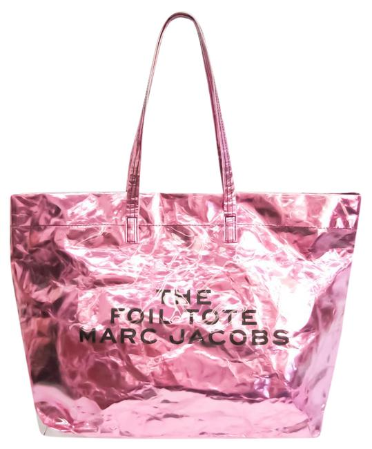 Item - Bag The Foil M0014874 Women's Clear / Metallic Pink Elastane / Polyester Tote