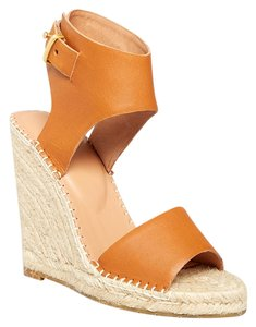 Joie Wedge Espadrille Summer Brown Wedges
