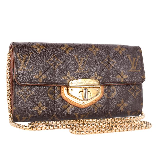 Item - Brown Etoile Quilted with Chain 9943 Wallet