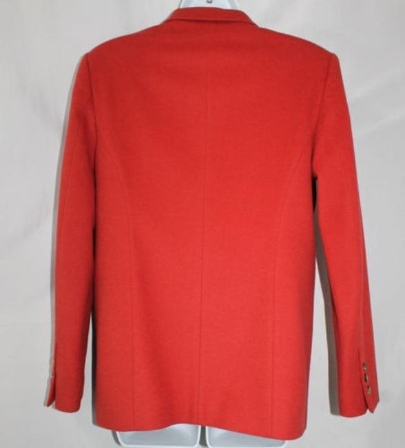 Escada Sport Red Angora Blend Jacket Blazer Image 1