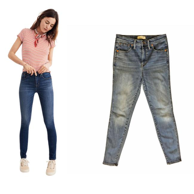 """Item - Blue 10"""" High-rise Skinny Jeans Size 28 (4, S)"""