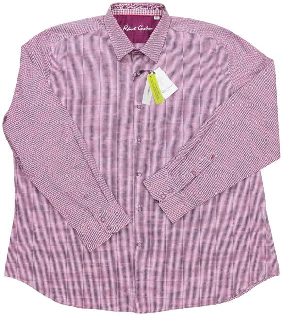 Item - Berry Orson Classic Fit Stretch Long Sleeve Flip Cuff Shirt Button-down Top Size 28 (Plus 3x)