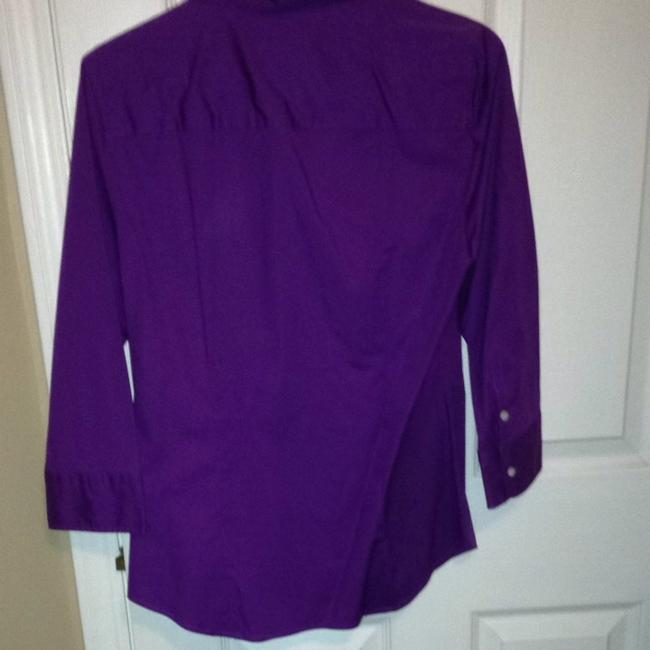 J.Crew Button Down Shirt Purple