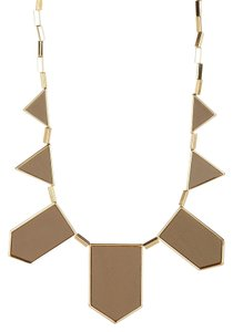 House of Harlow 1960 House of Harlow 1960 Five Station Leather Necklace