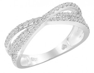 Other diamond ring sterling silver