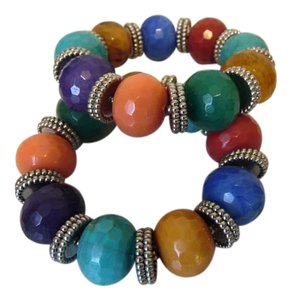 R.J. Graziano R. J. Graziano Multi-color Gemstone Stretch Bracelet