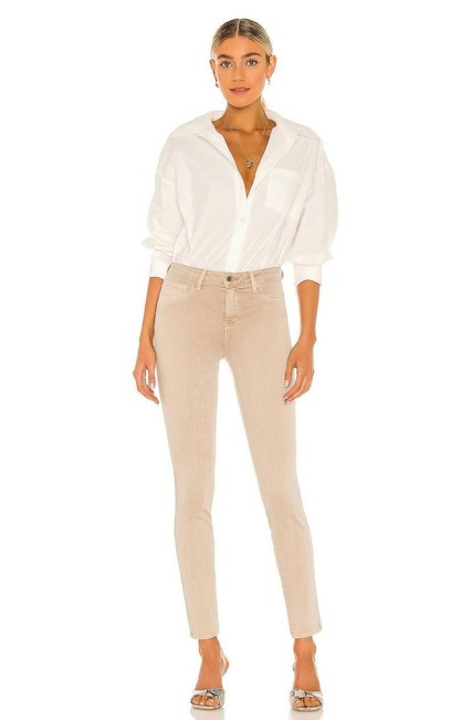 Item - Tan Marguerite High Rise Skinny Jeans Size 25 (2, XS)