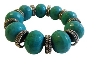 R.J. Graziano R. J. Graziano Simulated Turquoise Stretch Bracelet