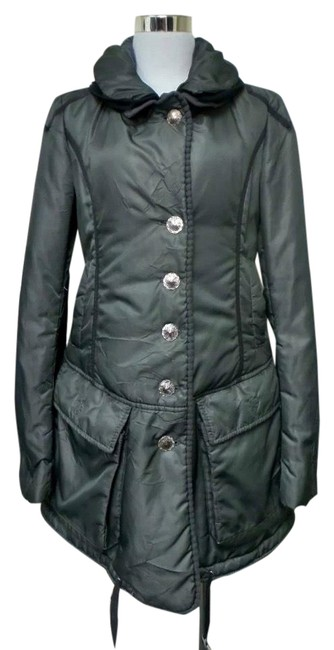 Item - Gray This Is Lovely and Cozy Puffer Jacket Size 6 (S)