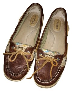 Sperry Brown/blue Flats