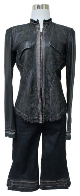 Item - Black This Is Absolutely Amazing Jacket & Bla Pant Suit Size 6 (S)