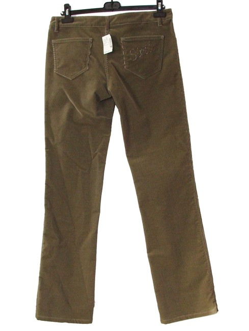 Stella McCartney Pants Cords Corduroy 12 Stretch Boot Cut Jeans-Medium Wash