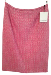 Calvin Klein Skirt Pink, Tweed