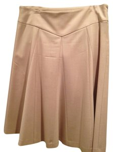 Preload https://item2.tradesy.com/images/theory-taupe-knee-length-skirt-size-6-s-28-2965381-0-0.jpg?width=400&height=650