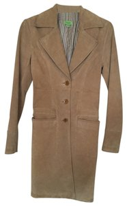 John Carlisle tan Leather Jacket