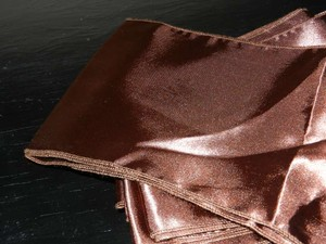 Chocolate Brown 10 Pc. 6x108 Inch Sash Tablecloth