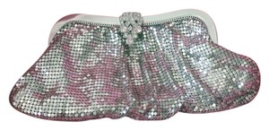 Whiting & Davis Mesh Metal 1950s Silver Clutch