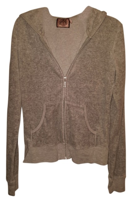 Preload https://item1.tradesy.com/images/juicy-couture-grey-jacket-2965645-0-0.jpg?width=400&height=650