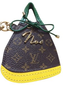 Louis Vuitton Louis Vuitton NOE Bag Charm Key Holder Cles