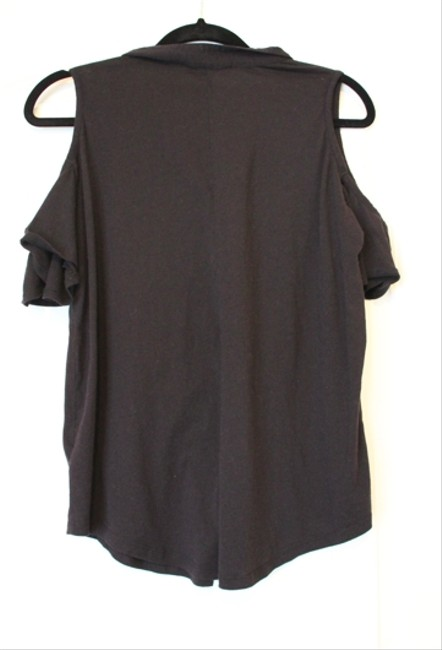Urban Outfitters Staring At Stars Open-shoulder T Shirt Black