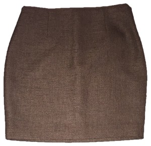 Elie Tahari Skirt Brown/tan