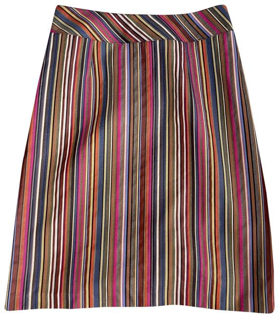 Item - Pink Striped Multi-color Skirt Size 4 (S, 27)