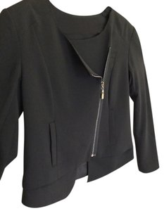 Peppercorn Denmark Business Suit Day/Night Black Zippered New Jacket