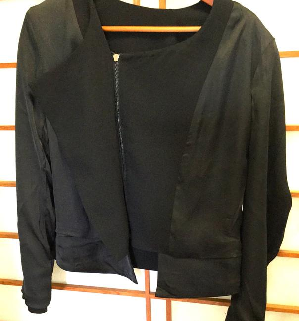Peppercorn Denmark Business Suit Day/Night Black Zippered New Jacket Image 5