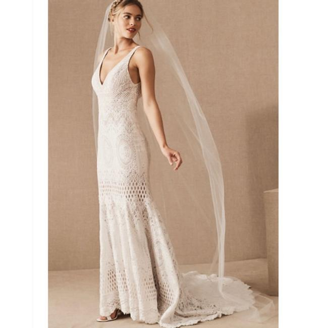 Item - White Long Nwot Soft English Luxe Tulle Cathedral Bridal Veil