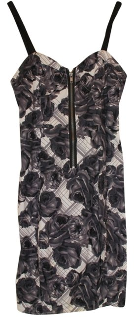 Preload https://img-static.tradesy.com/item/2966314/kimchi-blue-blackwhite-urban-outfitters-floral-adjustable-straps-mid-length-night-out-dress-size-4-s-0-0-650-650.jpg
