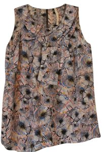 Rachel Roy Printed Printed Top Multicolored